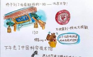 澎湃暑假征稿选登| 手绘北京那些有趣的事物