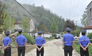 秦岭拆违:西安鄠邑区组织百余人,拆除一老年公寓四栋违建