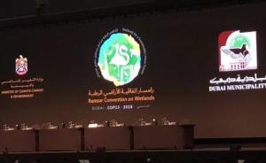 《濕地公約》第十三屆締約方大會在阿聯酋迪拜開幕
