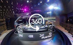 360°全景|足不出户逛进博会,现代汽车有新招!