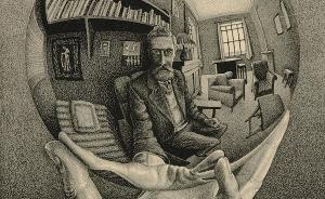 埃舍尔诞辰120周年:孤独艺术家的奇幻世界