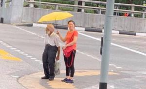 """中国一姑娘在新加坡的一个小举动,让外国网友们""""暖化了"""""""