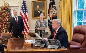 """特朗普听取涉朝报告后称""""期待再会金正恩"""""""