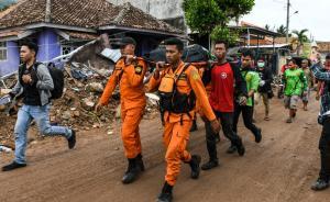 印尼海啸已致429人死,中国大使馆:全力搜救受困台湾同胞