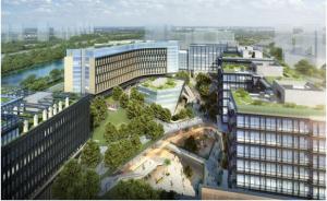 """这片会""""呼吸""""的办公楼,正在领跑绿色生态浪潮"""