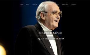 电影配乐大师米歇尔·勒格朗去世,曾三获奥斯卡奖