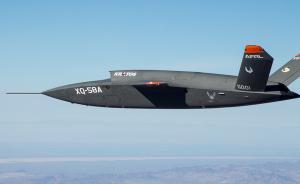 兵韬志略 美试飞首款隐身无人战斗机,谋求空战水平继续领先