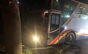 台湾花莲2辆陆客团游览车发生车祸,10人受伤送医