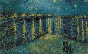 梵高与英国:伦敦煤气灯真的启发了他的《星夜》?