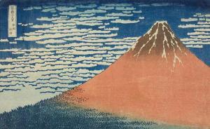 """葛饰北斋逝世170年:看贯穿他一生的""""通向富士山之路"""""""