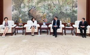 上海市长会见台湾宜兰县县长和台东县县长,谈了这些事