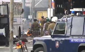 斯里兰卡科伦坡一教堂发生新的爆炸