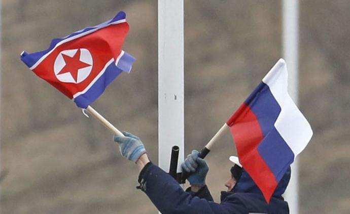 早安·世界|金正恩将出访俄罗斯,当地挂起?#28966;?#22269;旗