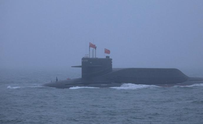 海上阅兵展示人民海军四大特征