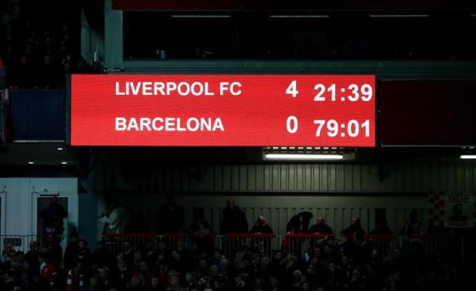 跨越14年的天意!足球世界有了新名词:利物浦安菲尔德之夜