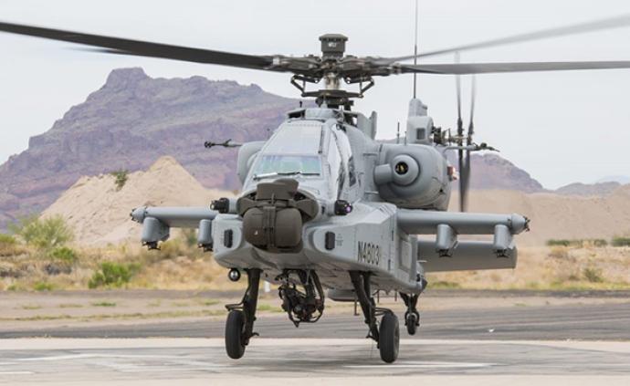 """首架""""定制阿帕奇""""直升機交付印度空軍:具備山區作戰能力"""
