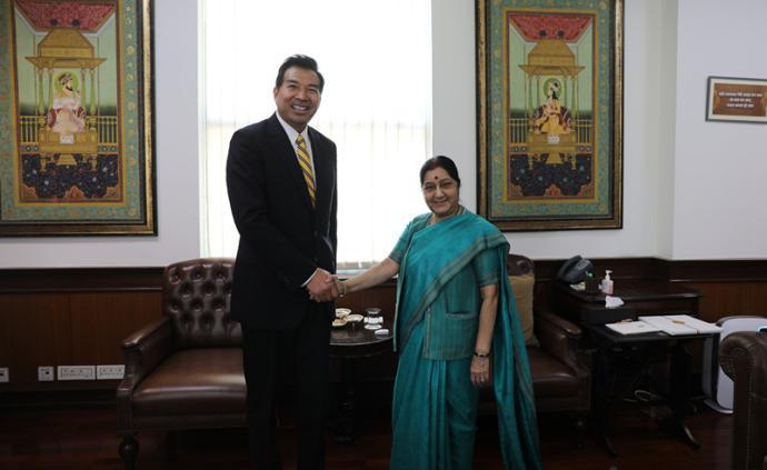 中國駐印度大使羅照輝即將離任