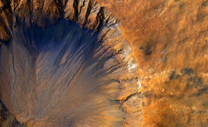 """火星曾是藍色""""水世界""""?被視為最有可能進化出生命的星球"""