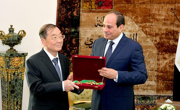 驻埃及大使宋爱国就职9年后即将离任,获埃及总统授勋