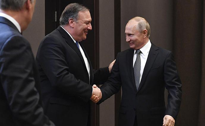 早安·世界|蓬佩奧訪俄:美國想要改善與俄羅斯的關系