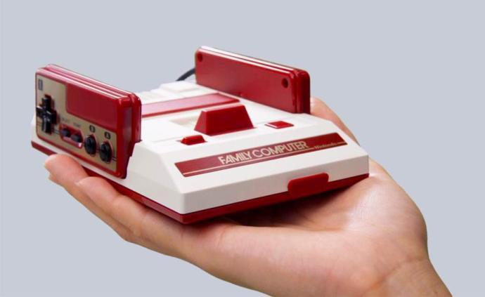 缩小的游戏机,带你回到童年