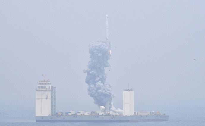 """俄專家:""""長征十一號""""火箭首次海上發射是世界級的成功"""