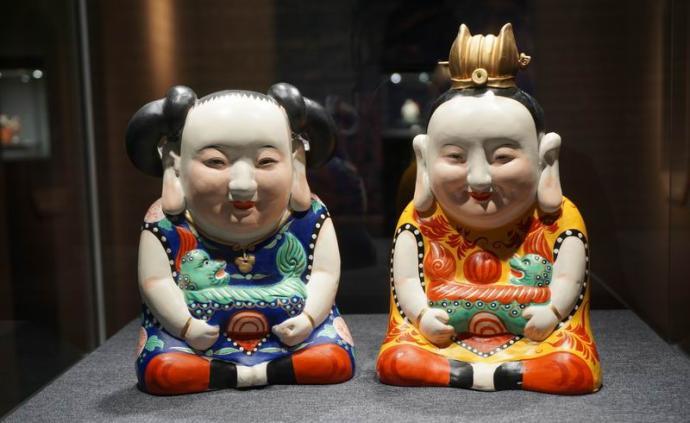 """泥土中孕育的""""生命"""",中國美術館展無錫惠山泥塑"""