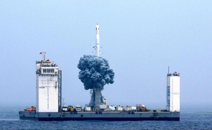 180秒,全程回看中国航天首次海上发射