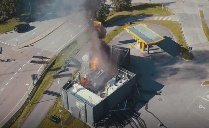 加氫站爆炸,震出周圍汽車安全氣囊,氫能源車到底安不安全?