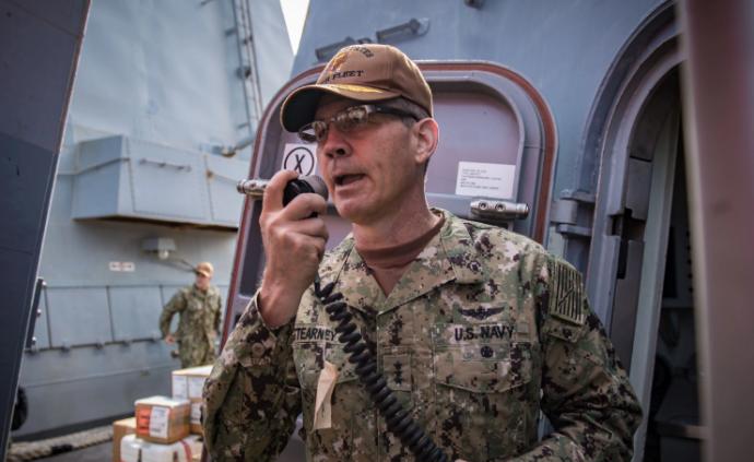 美国海军:第五舰队司令员确定死于自杀