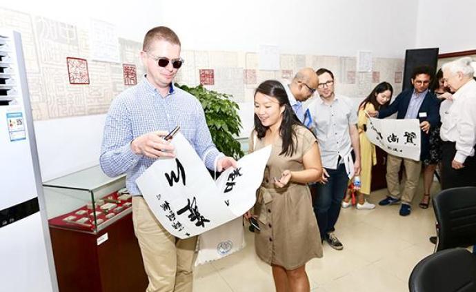 """藝術戒毒助力社區康復,中外學者紛紛贊嘆""""上海戒毒太特別"""""""