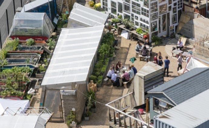 食物共享②| 倫敦:從對抗食物短缺,到工地菜園廚房