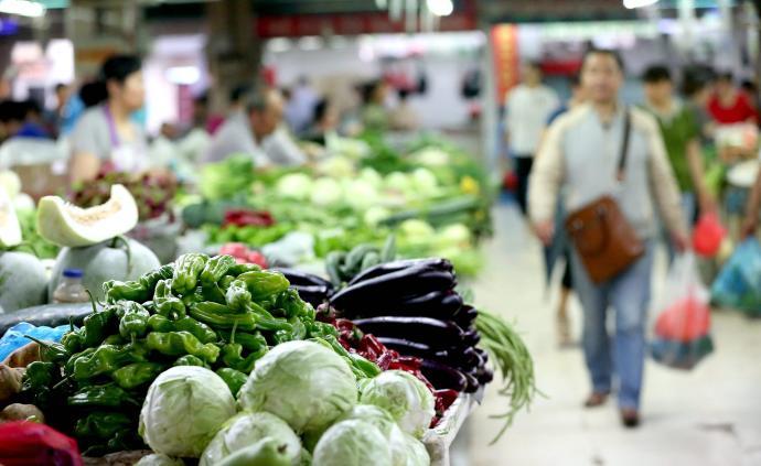 商务部:上周食用农产品和生产资料价格继续回落