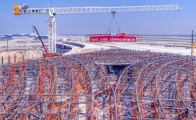 一道玻璃幕墙长6公里!浦东机场这个钢结构工程获行业最高奖