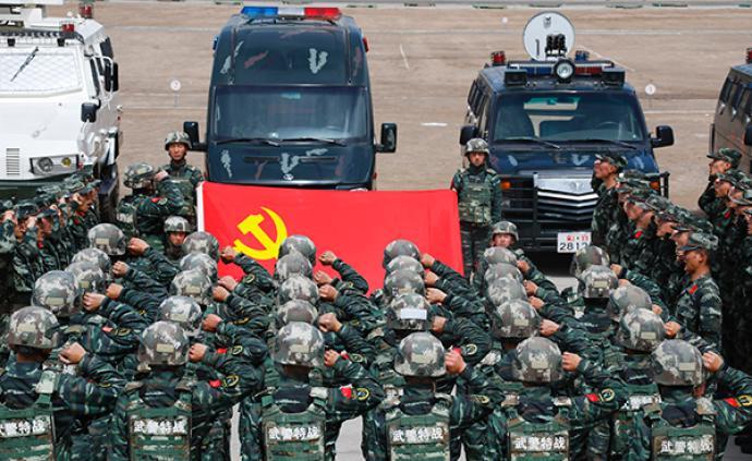 武警甘南支隊某特戰中隊:風雪雕刻的高原戰斗勁旅
