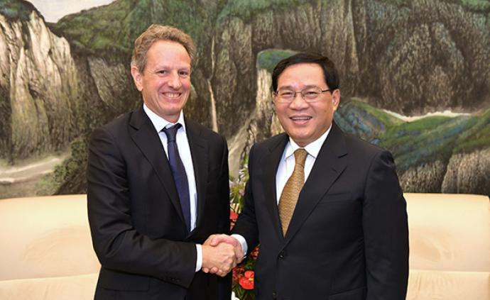 這家美國知名投資公司看好中國,與李強會見時謀求深度合作
