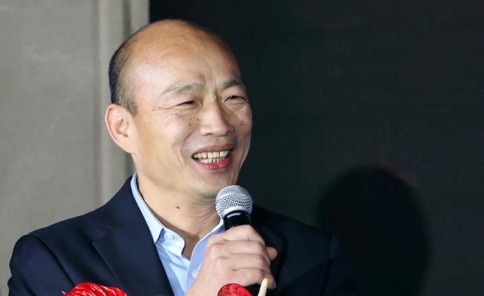韩国瑜台中造势活动即将开始,主办方预估15至20万人到场