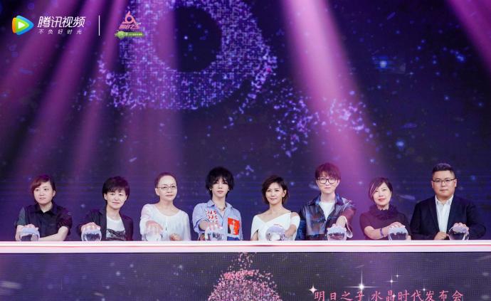《明日之子》水晶時代今晚開播:選拔女性歌手