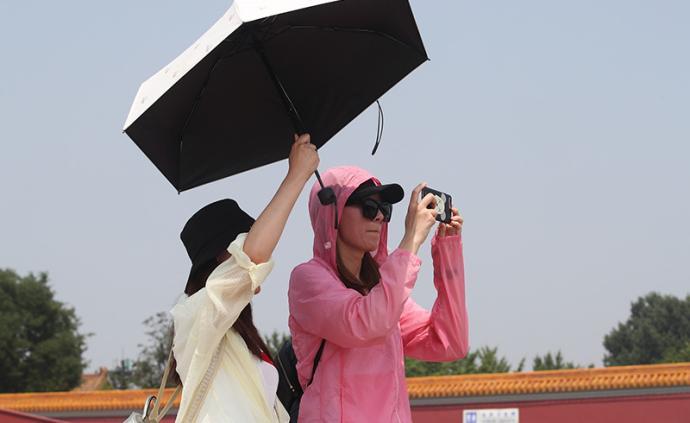 北京發布高溫藍色預警,明后兩天最高溫將達35℃以上