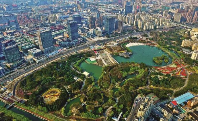 """上海静安区将塑造""""丰""""字形公共绿道,规划6处纯步行桥"""