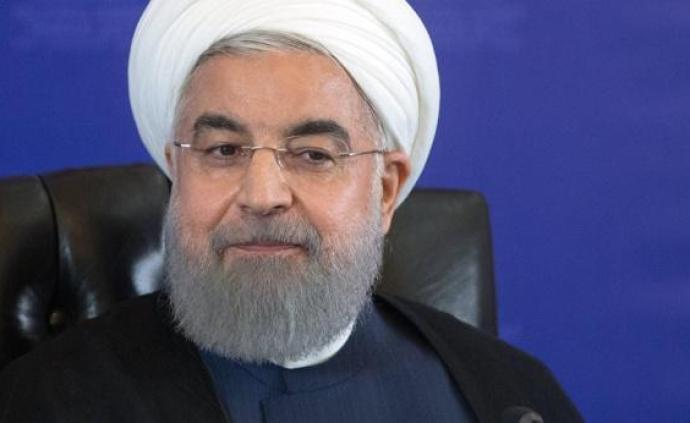 """特朗普威胁""""夷平""""伊朗,鲁哈尼:白宫智障"""
