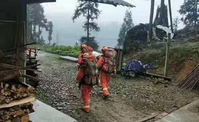 四川珙縣震區有陣雨,氣象專家建議做好震區防雨防雷電工作