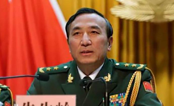 武警部隊原政委朱生嶺中將調任中部戰區政委