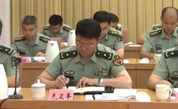 先衛平已晉升少將軍銜