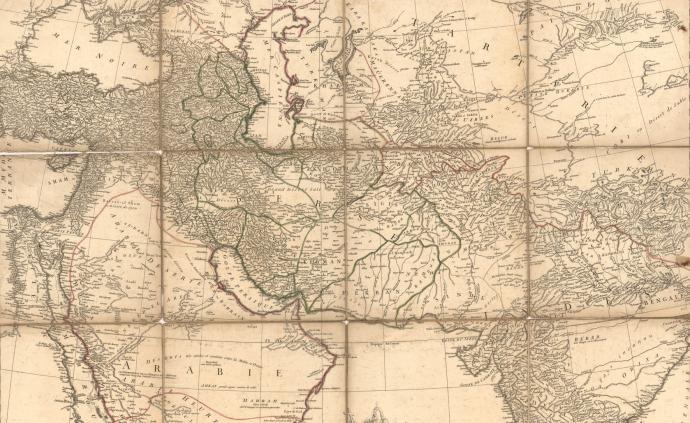 17世纪至20世纪初欧洲东方主义与地理建构中的亚洲与中亚