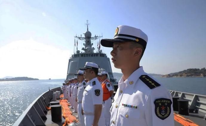 """海軍""""中華神盾""""艦訪問法國,兩軍將舉行聯合演練"""