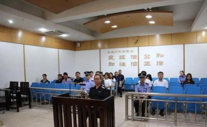 烏蘭察布原副市長嚴洪波案昨日一審開庭,當庭認罪悔罪