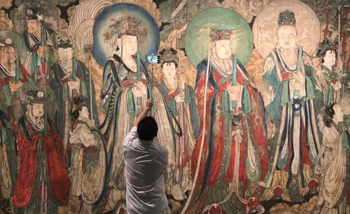 对话|临摹流失海外壁画:有技法传承,也见文物修复之道