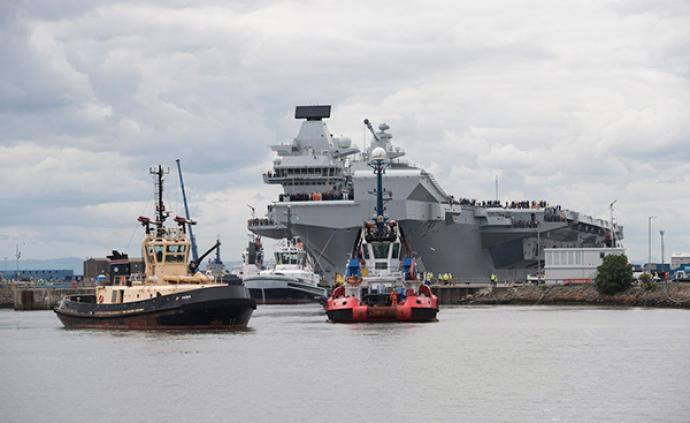英國唯一航母再次漏水,200噸海水涌入