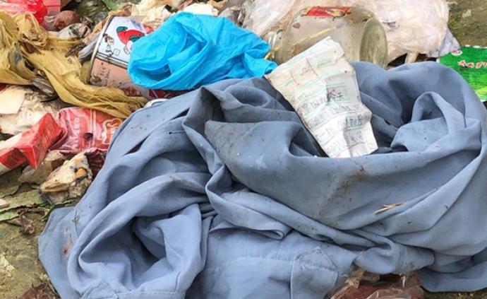 專案組詳細檢查淳安失聯女童家中租客房間,對生活垃圾取樣